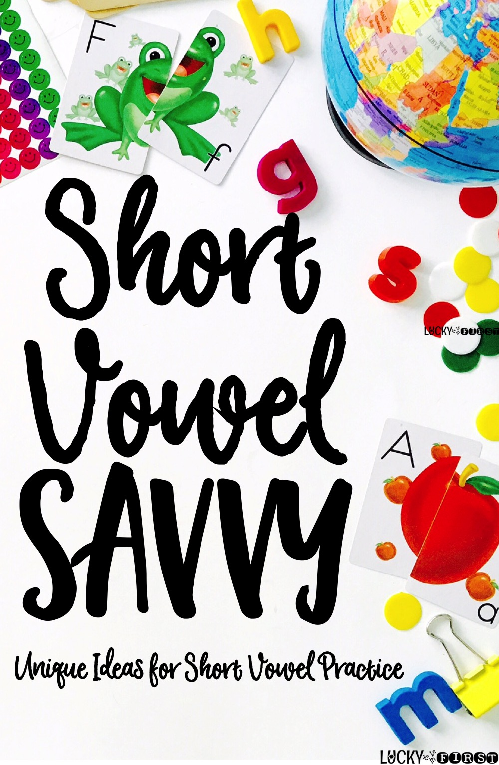 Short Vowel Savvy! TONS of fun ideas {and FREEBIES} to make learning short vowels fun!
