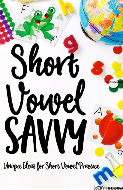 Short Vowel Savvy - Using Games to Master Short Vowels! TONS of fun ideas {and FREEBIES} to make learning short vowels fun!