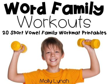 Word Family Workouts by Lucky to Be in First