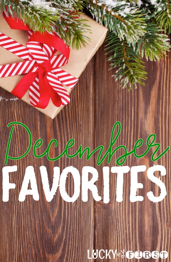 Ho Ho Ho! December Favorites Time! Swing on by the blog to find out what I MUST-HAVE this month!