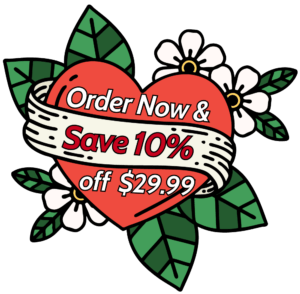 Galentine and Valentines Lucky You Flowers Save 10%