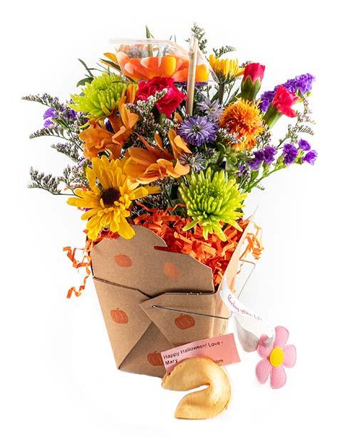 Pumpkin Patch - Halloween Lucky You Flower Arrangement