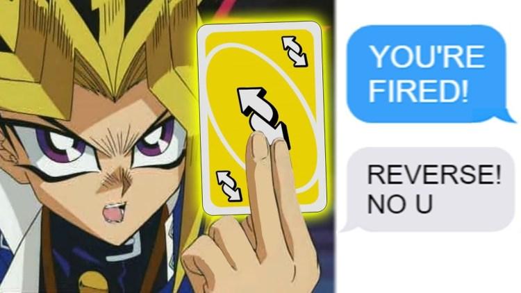 Uno Reverse Card