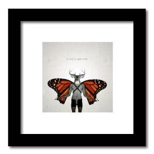 [ VENDU petit format 1/15 ] Le cerf volant #2 / Luc Pallegoix, 2013. Encre pigmentaire sur papier Moab blanc 300 gr. Disponible en grand format |50 x 50 cm 5 ex.| ou moyen format | 23 x 23 cm 10 ex. | ou petit format | 12,5 x 12,5 cm 15 ex. |