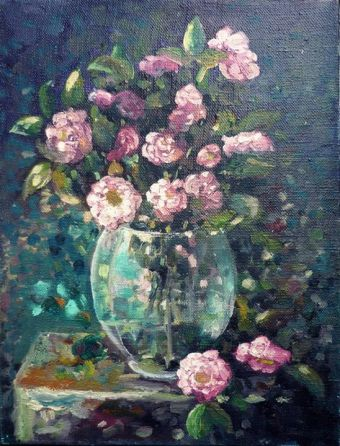 trandafiri mici