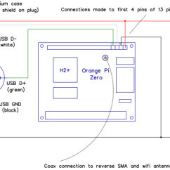 Diagram Of An Orange Solar System Wiring Ruggedised Pi Zero Lucsmall Com Connection