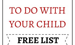 Fun Activities To Do With Your Child