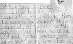 Rd Graders Essay About Horses