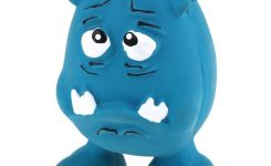 Funny Face Latex Squeaky Dog Toy Wonpet Store