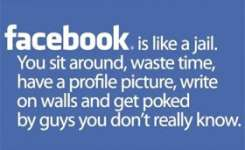 Magnificent Idea Funny Quotes Like A Jail You Sit Around Waste Time Have A Profile