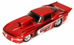 Jada Toys Bigtime Muscle Chevy Corvette Stingray Funny Car Hard Top