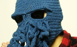New Cool Handmade Knitting Men Women Uniwool Hats Funny Animal Beard Octopus Caps Crochet Tentacle Beanies Gifts In Skullies Beanies From Mens