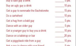Truth Or Dare Style Bachelorette Party Games
