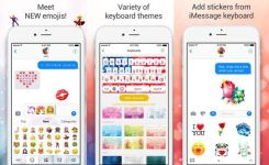 This Is Personalized Universal Color Keyboard With Autocorrection Smart Predictive Typing And Quick Access To All Emojis Including Artistic Emoji Bos