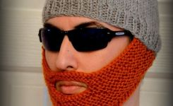 Beard Hat Gifts For Men Gifts For Him Gifts By Knitandcrochet Just