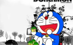 Poto Foto Wallpaper Doraemon Lucu