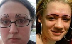 Hilarious And Awkward Eyebrow Fails  Will Make You In Your Pants Seenox
