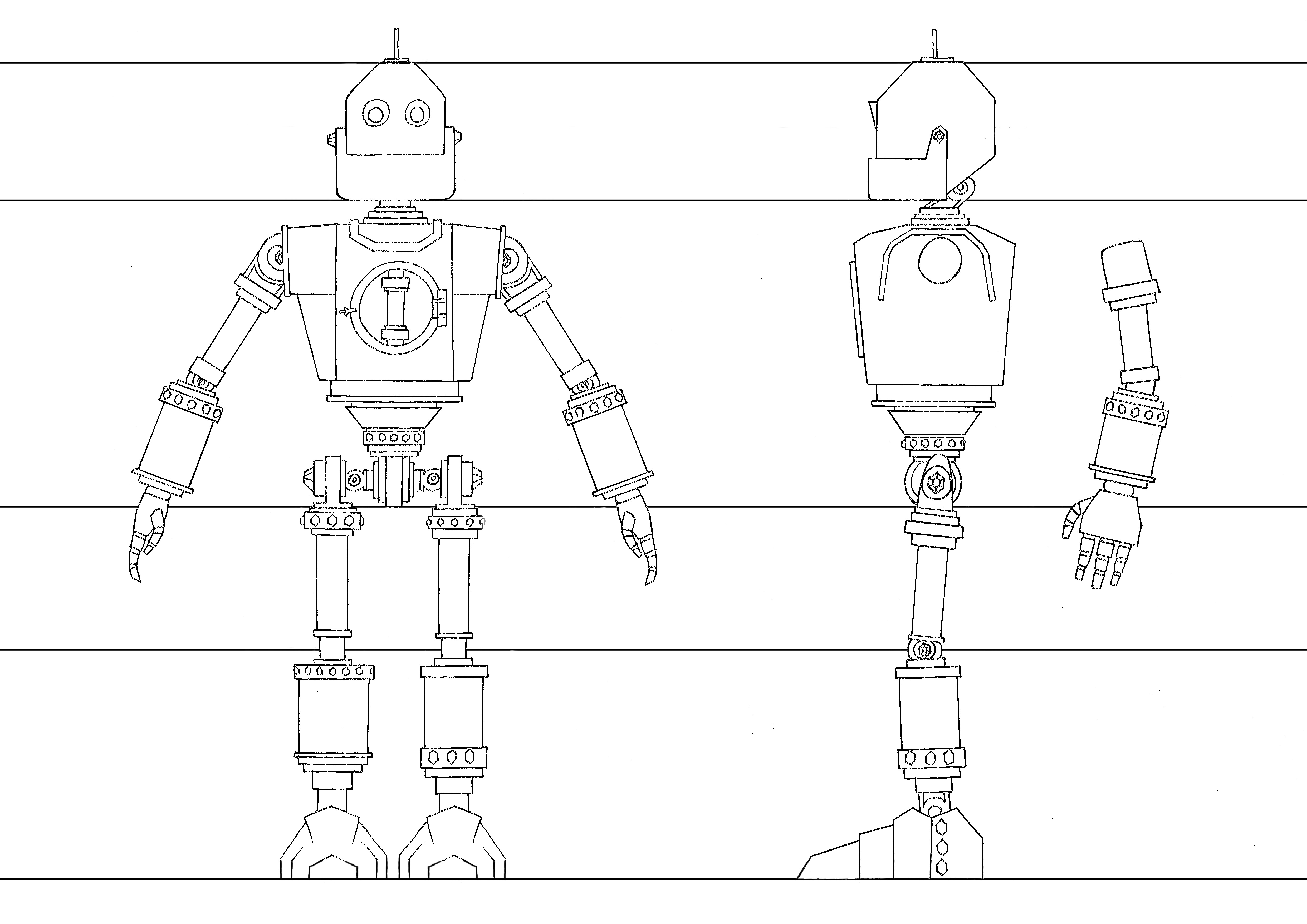Major Project Robot Design Lucy Ashfield