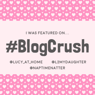 #BlogCrush blogger linky logo which redirects you to their link-up
