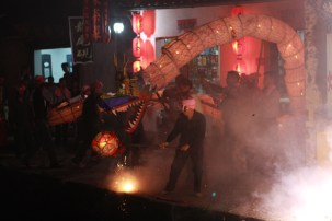 Dragon to celebrate mid-Autumn, Xiao Likeng, Jiangxi