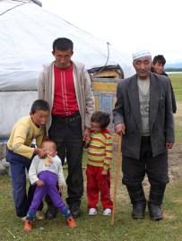 Nomads living next to Khoton Nuur, Altai Tavan Bogd National Park