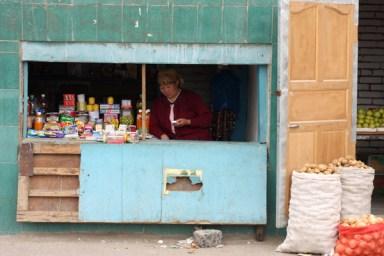 Market in Olgii, West Mongolia