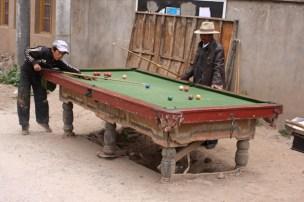 Snooker, Ganzi, NW Sichuan