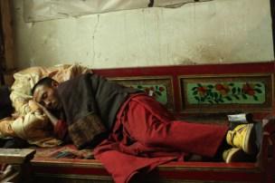 Lama in Ganzi Temple, Ganzi, NW Sichuan
