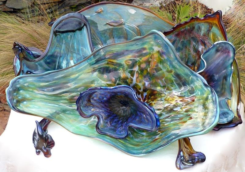 Ocean Flower Sculpture