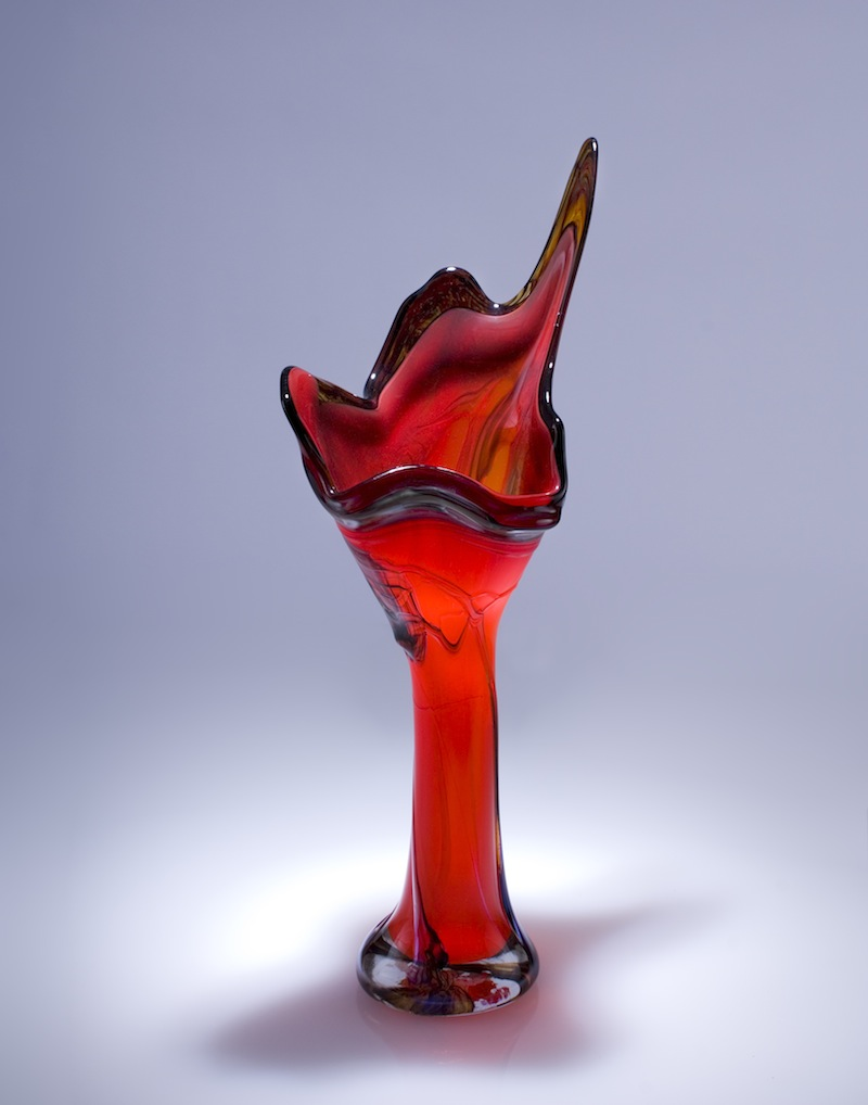 Lava Glass Art Vessel
