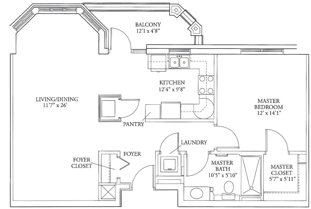 medium resolution of lucy corr independent living apartments floorplans castlewood 1 br 863 square