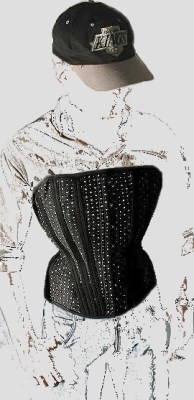 "The ""Arnold"" men's overbust corset by The Ardent Collection"