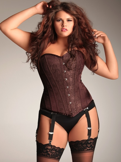 Full Figure Plus Size Corsets  Lucys Corsetry