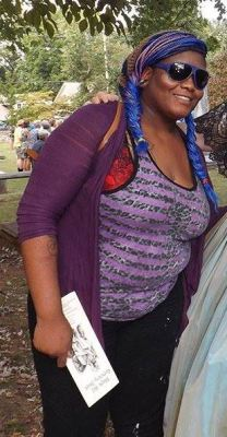 "Diantha before training, 42"" waist"