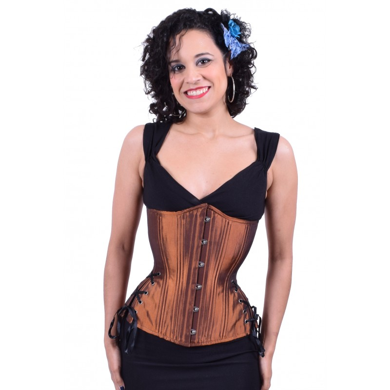 27987d76a0813 Hourglass Copper Longline Corset – Lucy s Corsetry