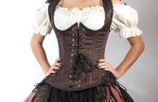 "62dd568f00c Pirate Fashions ""Buxom Bodice"" Corset Review"