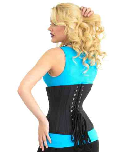 Glamorous Lara curvy underbust corset for sale at Lucy's Corsetry $84 USD