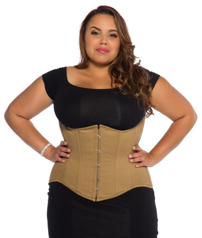Glamorous Jolie curvy longline corset for sale at Lucy's Corsetry $84 USD