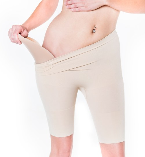 Shape n' Go compression shorts for keeping hip pads in place and smoothing corset edges, available on Lucy's Corsetry $39