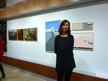 Anna Steele and her paintings