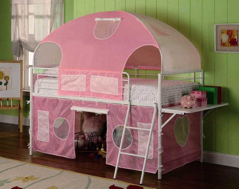 460202 CO Girls Tent Bunk Bed