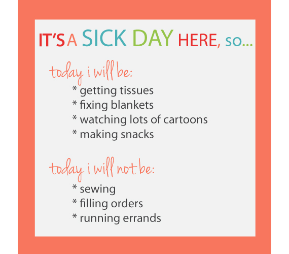 Calling in a Sick Day