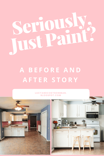 Painting a Kitchen: Before and After