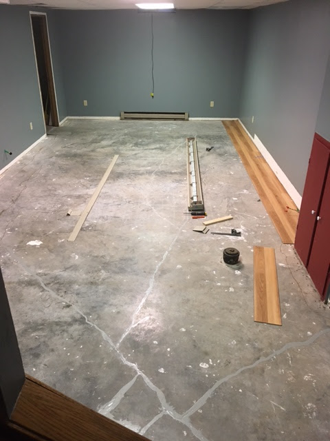 Basement Update