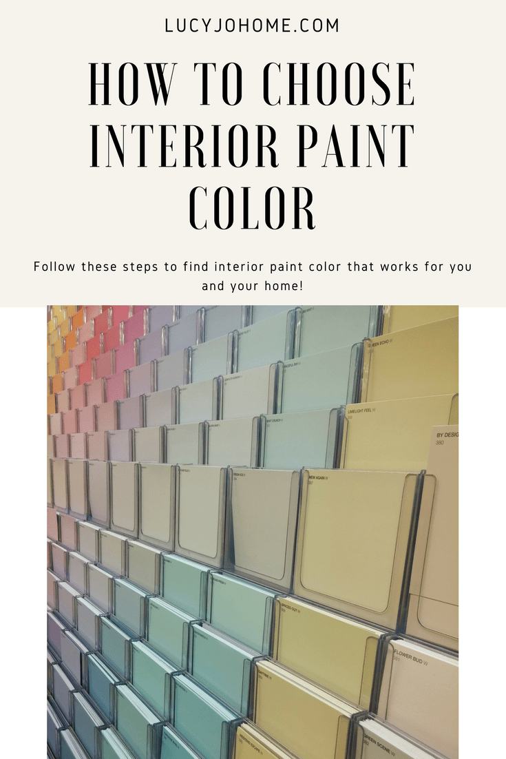 How to Choose Interior Paint Color