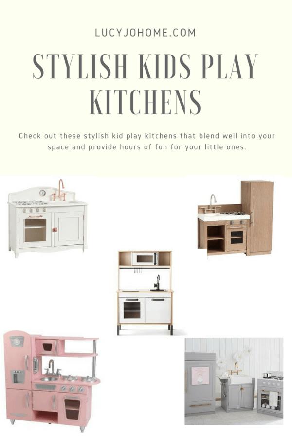 Stylish Kid Play Kitchens