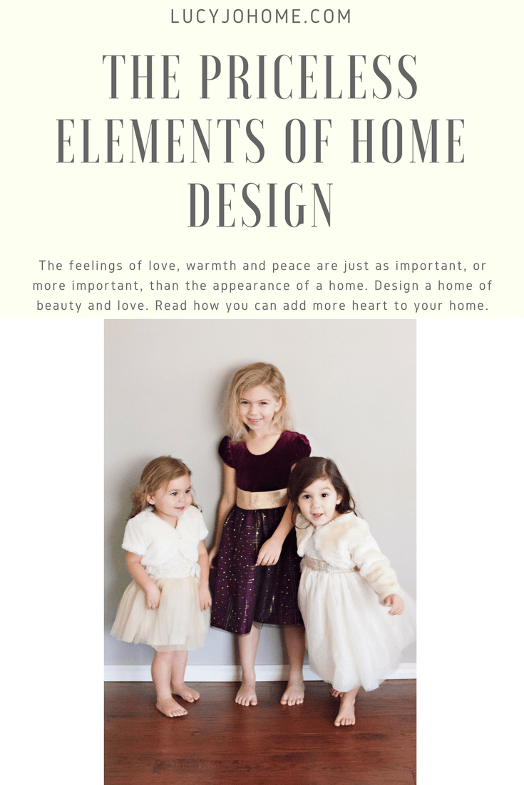 The Priceless Elements of Home Design