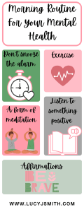 create a positive morning routine