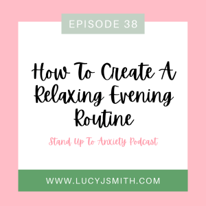 how to create a relaxing evening routine