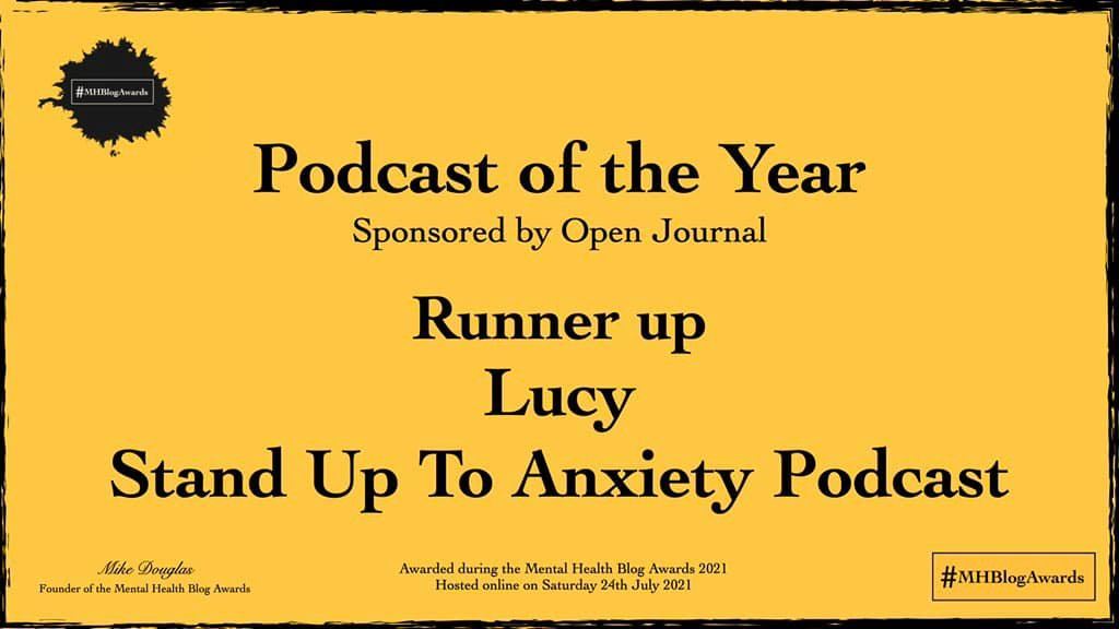 podcast of the year award